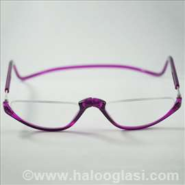 Magnetne naočare za čitanje - poluram