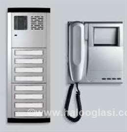 Video nadzor i alarmi za objekte interfoni motori