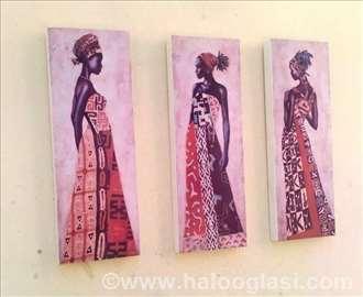 Africki set - 3 slike