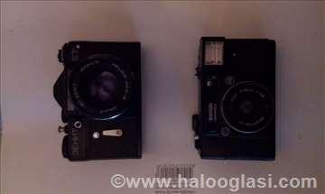 Dva fotoaparata Zenit