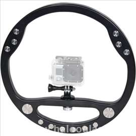 Kamera stabilizer Wheel GoPro Full HD DSLR
