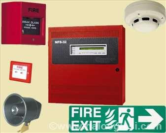 Alarmi za uzbunjivanje u slučaju provale, požara