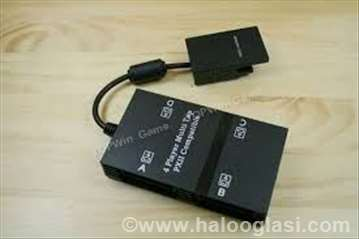 Multitap za Sony PS2-slim i fat-univerz.