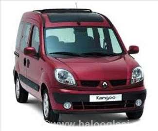 Renault Kangoo 1.2 1.4b 1.5dci 1.9 Menjac i Delovi