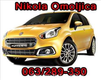 Fiat polovni delovi Nikola Omoljica