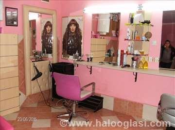 Kompletna oprema za frizerski salon