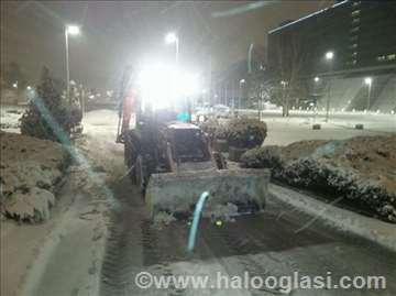 Čišćenje snega-zimska služba, odvoz,dežuramo 00-24