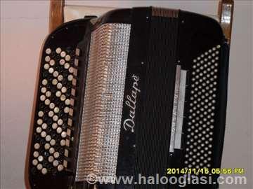 Časovi harmonike dugmetare za klasičnu i narodnu