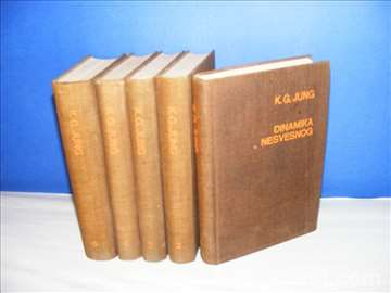 Karl Gustav Jung 1-5 komplet