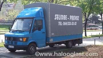 Kombi - kamion selidbe, povoljno