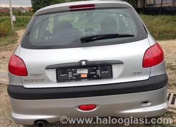 Peugeot 206 Zadnji Branik Karoserija
