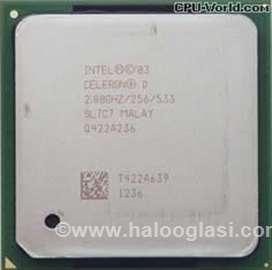 Celeron D 2.80GHz/478/256/533/SL7C7