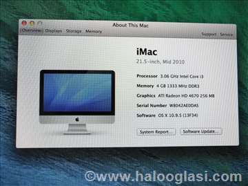 Imac 21,5inc late 2010 sa Intel i3
