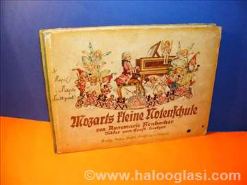 Mozarts Kleine Notenschule 1934 German Childrens M