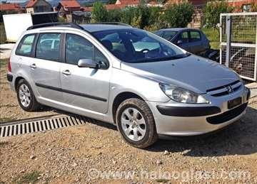 Peugeot 307 Delovi Kompletan Auto U Delovima