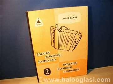 Škola za klavirsku harmoniku 2 Albin Fakin