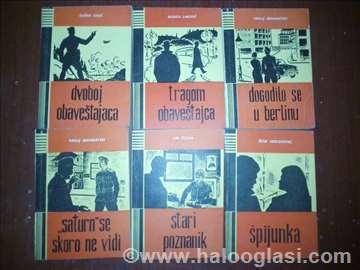 Stari uzbenici + 6 krimi knjiga
