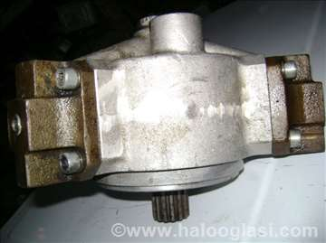 Hidraulicna klipno-radijalna pumpa