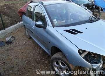 Peugeot 206 Delovi