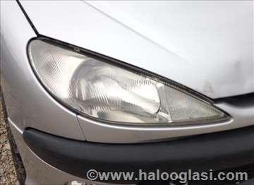 Peugeot 206 Far Svetla I Signalizacija