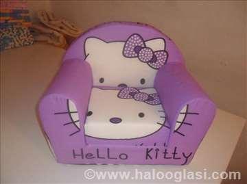 Prelepe decije foteljice od sundjera na rasklapanj
