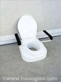 WC nasatvak za šolju Eureha sa rukohvatima