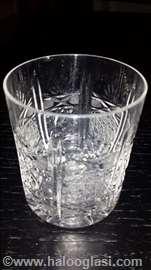 Kristalne čaše za viski iz 60tih godina