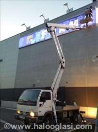 Kamionska korpa/platforma