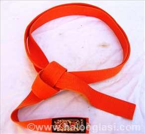 Pojas za borilačke sportove-oranž