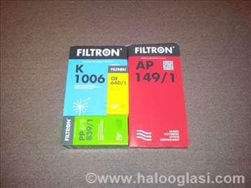 FILTRON filteri za sve modele FILTRON