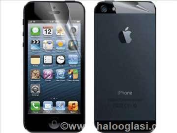 Iphone 5 folije za ekran prednja+zadnja