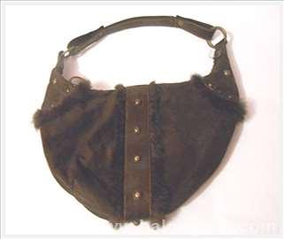 Braon torba sa krznom