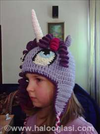 Kapa My little pony - Twilight sparkle - ručni rad