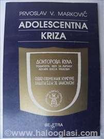 Knjiga:Adolescentna kriza,Prvoslav Markovic,1995,g