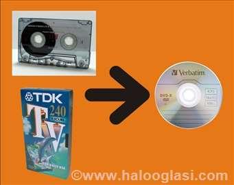 Audio, video kasete i gramofonske ploče