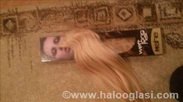plava kosa od prirodne dlake