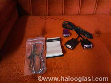 Komplet kablova za PC + adapter