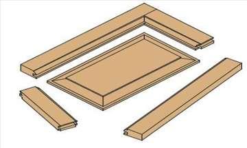 Set za izradu kuhinjskih vrata