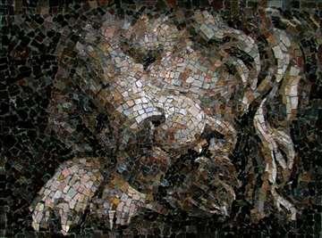 Mozaik ,,Lav na umoru''