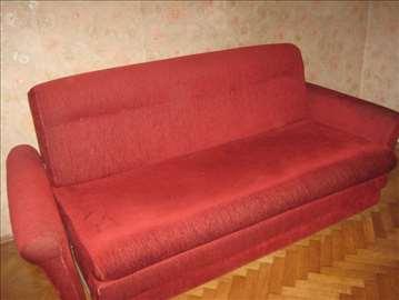 Trosed i dve fotelje, klik klak kauč