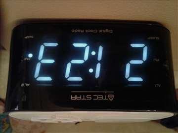 Radio sat budilica lampica