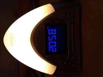 Radio sat stona lampa budilica
