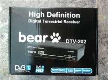 DVB-T2 risiver BEAR DTV-202