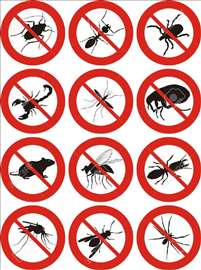 Dezinsekcija i Deratizacija - insekti i glodari
