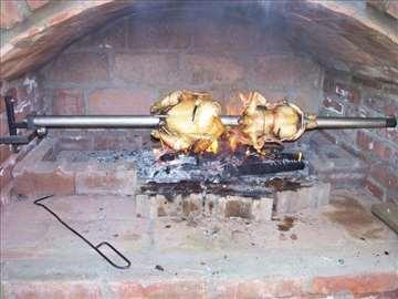 Mehanizam za zidanu pečenjaru