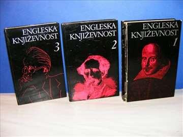 Engleska književnost 1-3, komplet, grupa autora