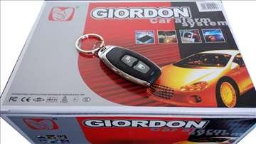 Auto alarm Giordon - puno opcija