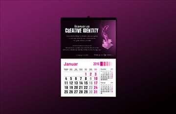 Izrada malih zidnih kalendara!