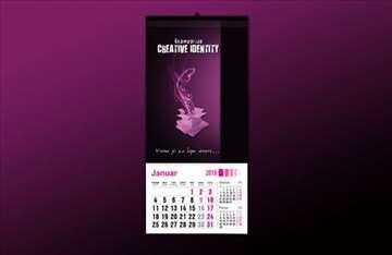 Izrada velikih zidnih kalendara!