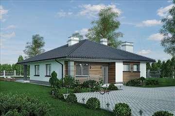 Montažna kuća Domo 45 - Montažne kuće KućaMont